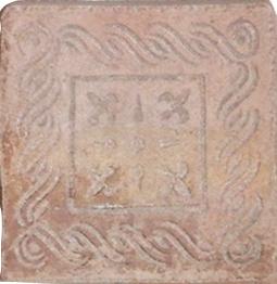 EN STOCK: Décor 16,5x16,5 Carthage