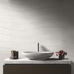 Fabric 30x90 Waves White